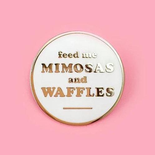Little Arrow - Mimosas & Waffles Pin