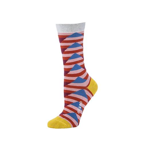 Zkano Socks - Cornflower Aspyn Women's Crew Socks