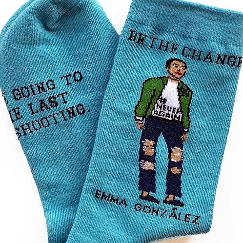 Maggie Stern Stitches - Emma Gonzalez Crew Socks