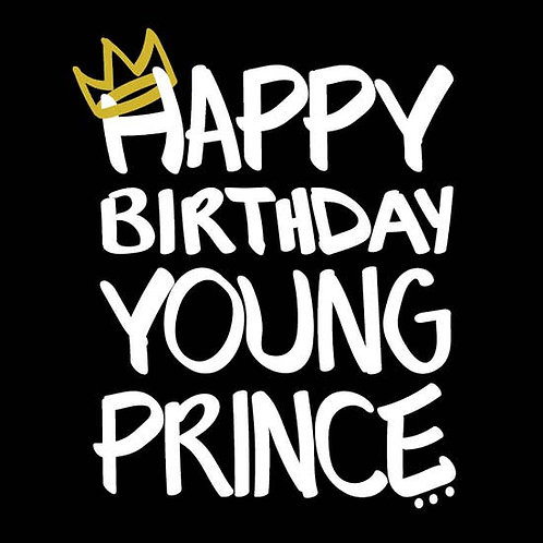 Shannon Cohen - Happy Birthday Young Prince