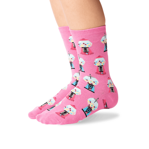 Hotsox - Pink Gumball Kid's Socks
