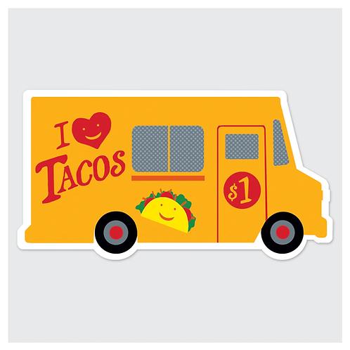 Rock Scissor Paper - Taco Truck Sticker