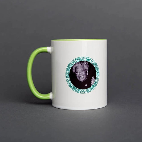 IamTra - Maya Angelou Mug