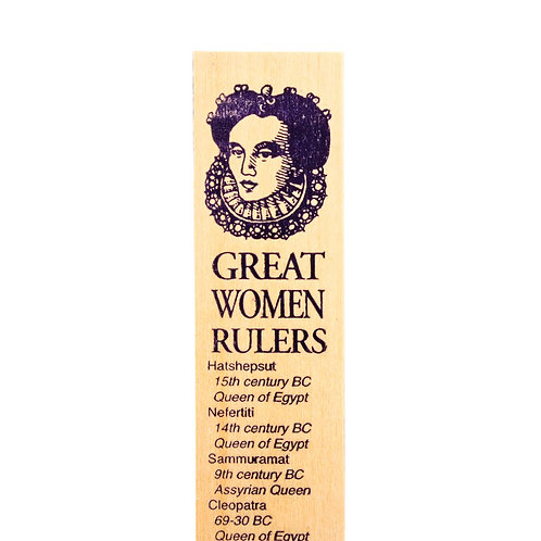 Channel Craft - Great Women Rulers