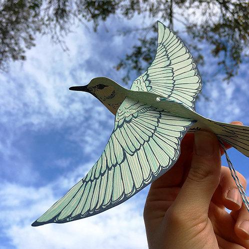 Blackbird Letterpress - Bluebird Letterpress Pop Out Card