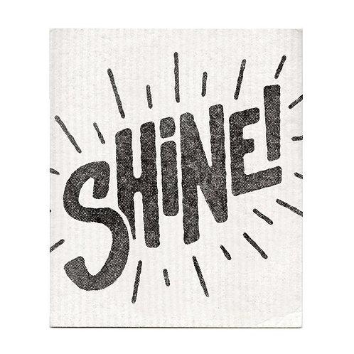 Bold Faced - Shine! Dishcloth