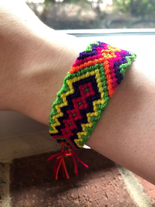 Worka B - Woven Colorful Bracelet