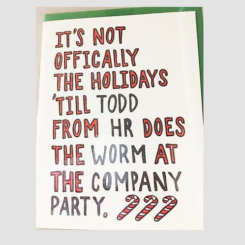 Papa Llama - Holiday Office Party Card