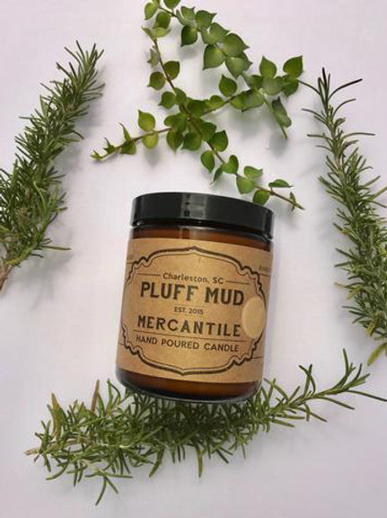 Pluff Mud Mercantile - Fallen Leaves 4oz Candle