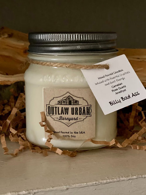 Outlaw Urban Barnyard - Billy Bad Ass 8oz Candle
