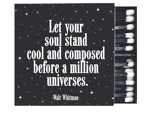 Quotable - Let Your Soul Stand Matches