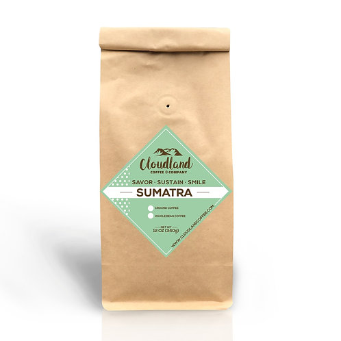 Cloudland Coffee -  Sumatra Blend