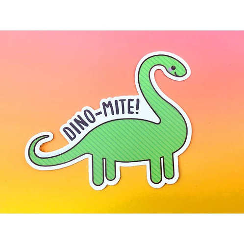 Tiny Bee - Dino-Mite Vinyl Sticker