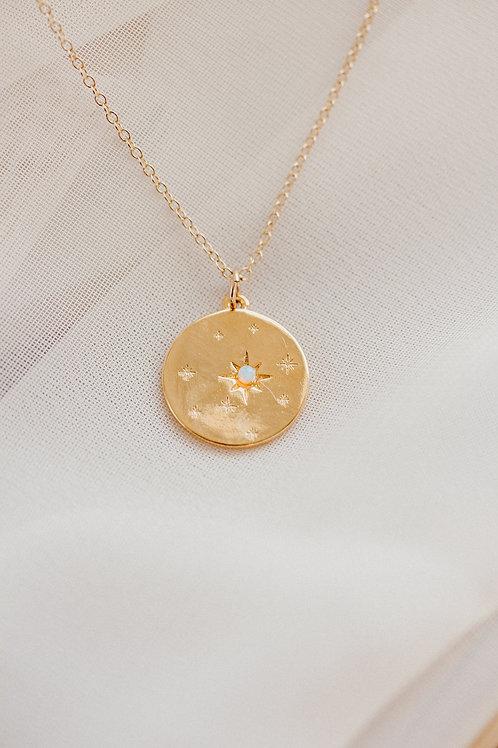 Borcik Jewelry - Starry Night Opal Necklace