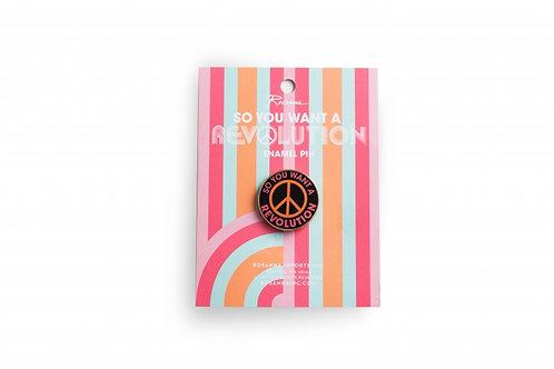 Rosanna - Revolution Peace Pin