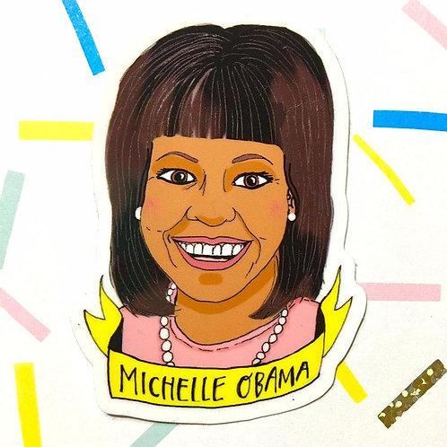 Annie Draws Stuff - Michelle Obama Sticker