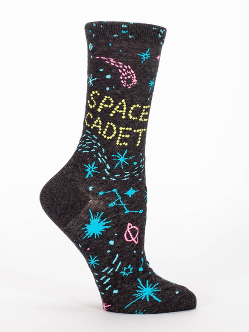 Blue Q - Space Cadet Crew Socks