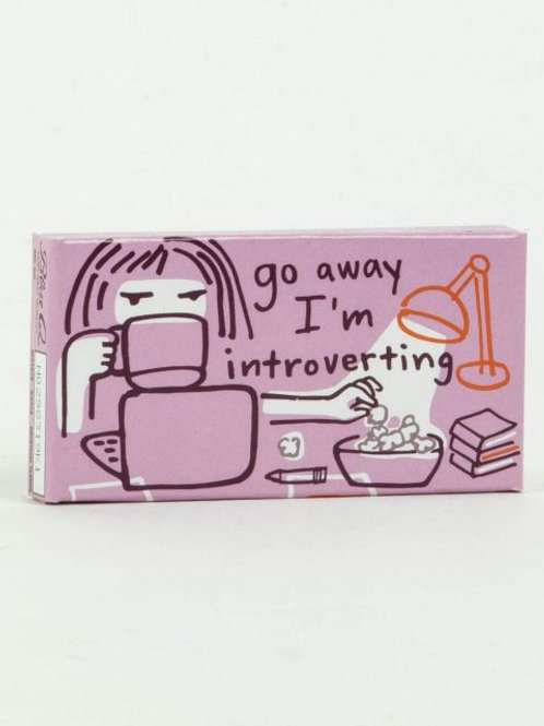 Blue Q - Go Away I'm Introverting Gum