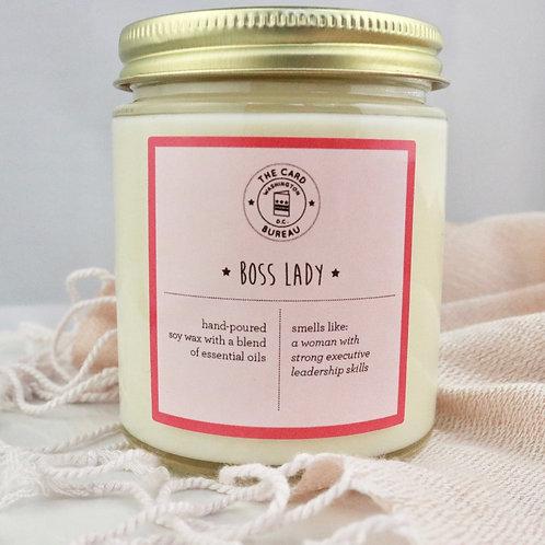 The Card Bureau - Boss Lady Soy Candle