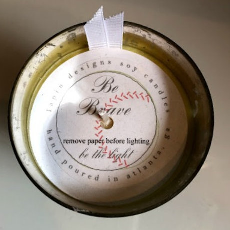 Lapin Designs - Be Brave Soy Candle