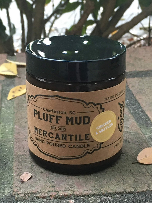 Pluff Mud Mercantile - Chicken & Waffles 4oz Candle