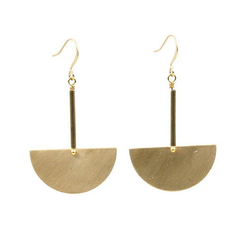 Sunday Girl Amy - Pendolo Geometric Dangle Earrings