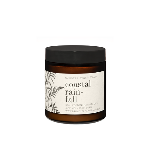 Broken Top Candle Co. - Coastal Rainfall 4oz Soy Candle