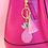 Thumbnail: Little Arrow - Pink Pineapple Keychain
