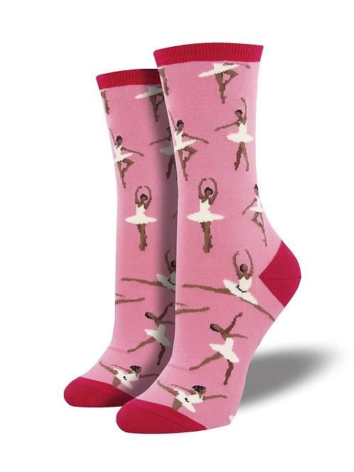 Socksmith - Ballet People Crew Socks