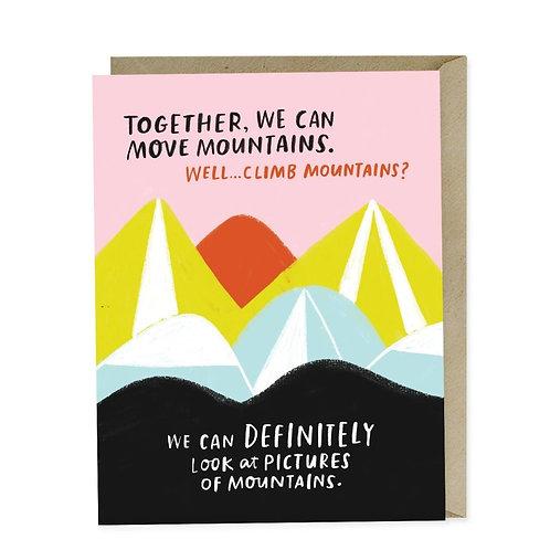 Em & Friends - Move Mountains Card