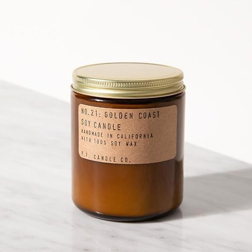 P.F Candle Company - Golden Coast Soy Candle