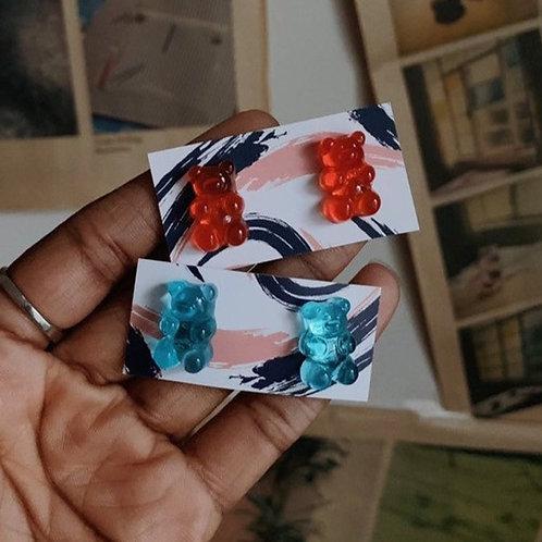 LoveNanaCo - Gummy Bear Earrings