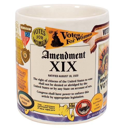Unemployed Philosophers - 19th Amendment Mug