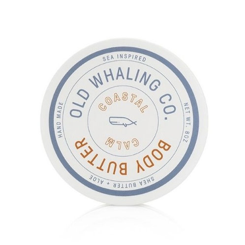 Old Whaling Co - Coastal Calm Body Butter 8oz