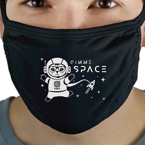 ReSISTA Kat - Space Kat Reusable Face Mask