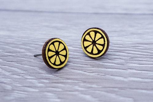 Lumen House - Lemon Stud Earrings