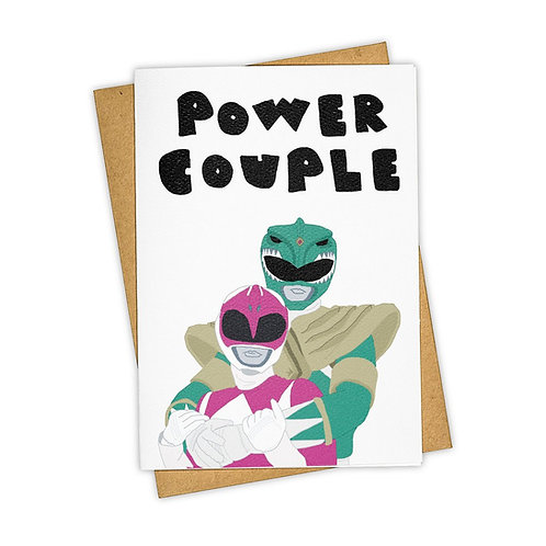 Tay Ham - Power Couple Power Rangers Card