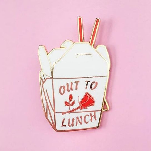 Little Arrow - Out to Lunch Pin