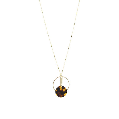 Sunday Girl Amy - Cora Necklace in Brown