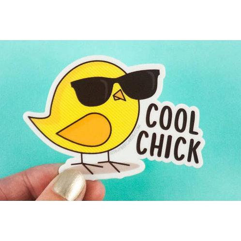 Tiny Bee - Cool Chick Vinyl Sticker