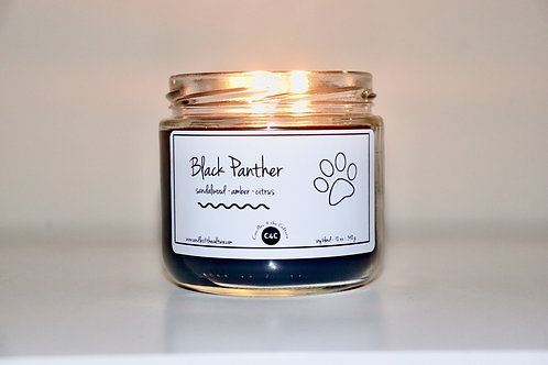 Candles 4 The Culture - Black Panther Candle