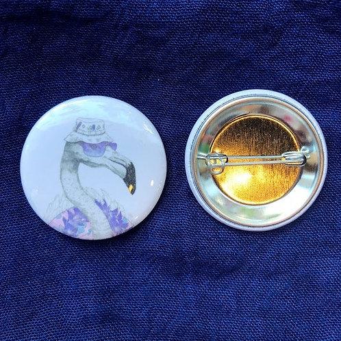 ShopAberleigh - Flamingo Buttons