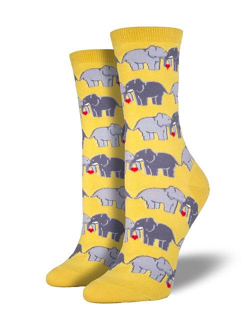 Socksmith - Elephant Love Women's Socks