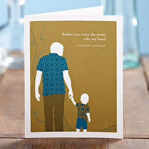 Compendium - Father's Day Card with John Lennon Quote