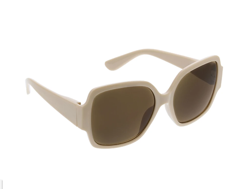 Peepers - Sunglasses:  Carmen Sun in Taupe +0.00