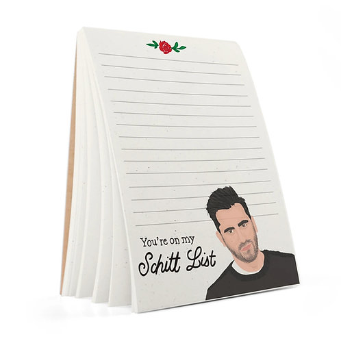 Tay Ham - You're On My Schitt List Notepad