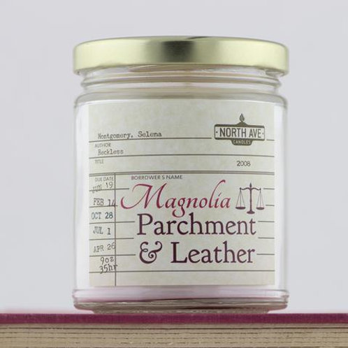 North Ave - Magnolia Parchment & Leather Inspired by Reckless