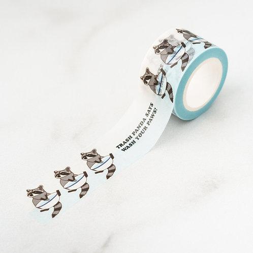 ILootPaperie - Trash Panda Washi Tape