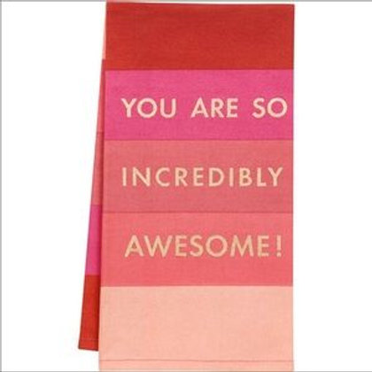Paper Source - You Are Awesome Tea Towel