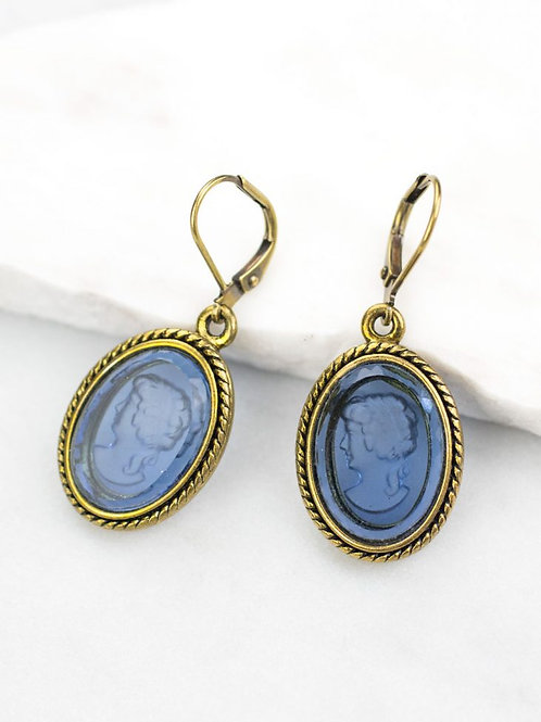 Grandmother's Buttons - Hestia Earrings